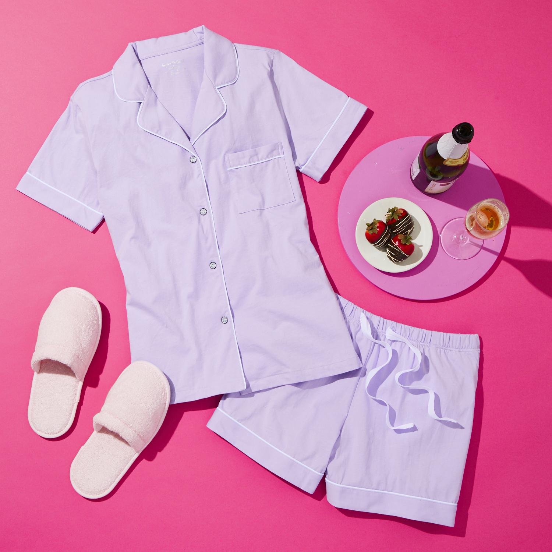 Pajama flatlay
