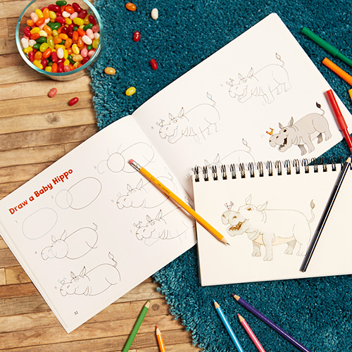 Teach Your Kids How to Draw with Shapes