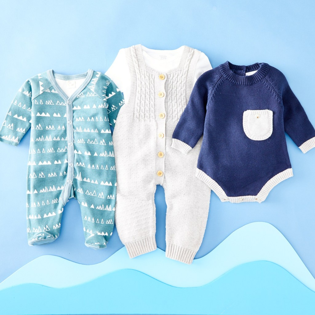 Baby boy outfit inspiration - blue outfits