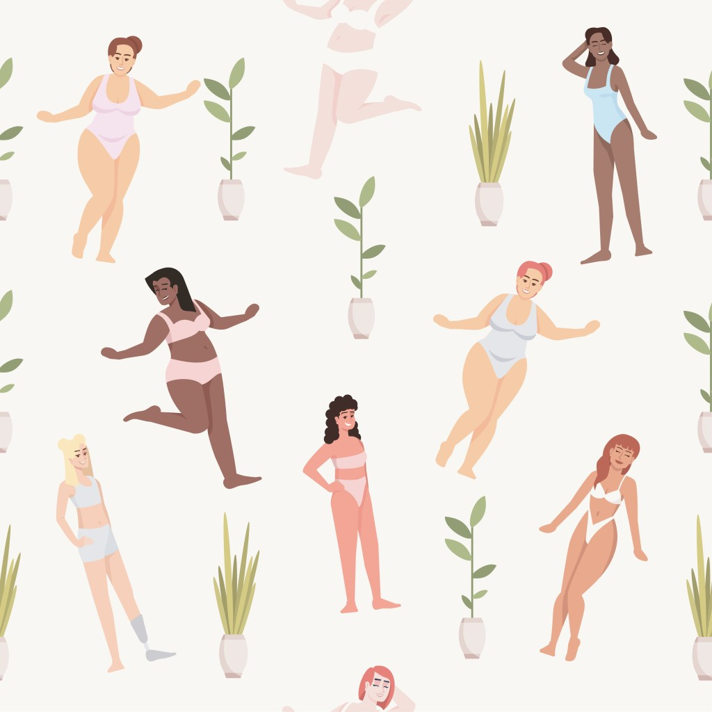 illustration of different bodies