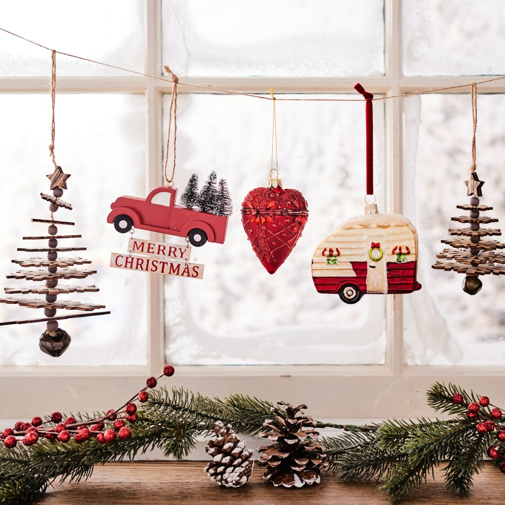 ready your holiday home with hanging ornaments