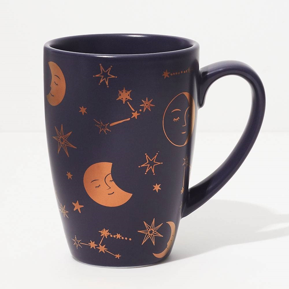 Moon and stars mug from Paper Source