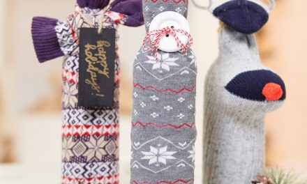 Craft a Sock Wine Cozy