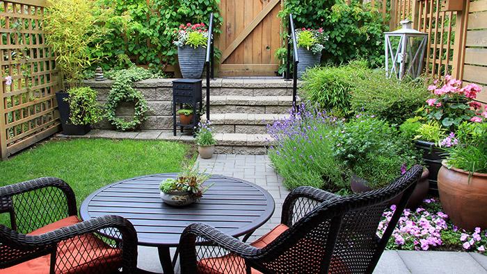 Create a Mini Outdoor Oasis