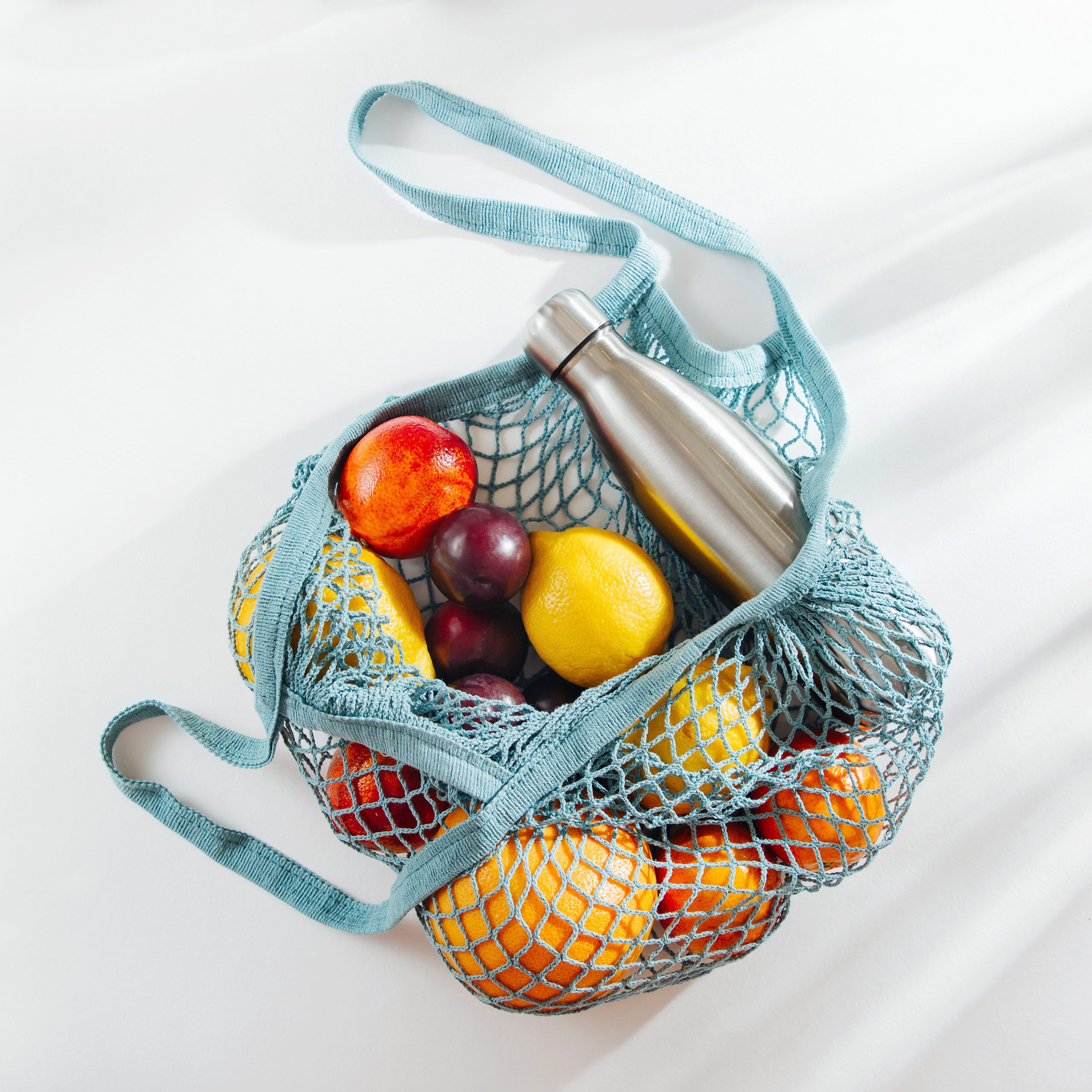 Reusable shopping bag for groceries
