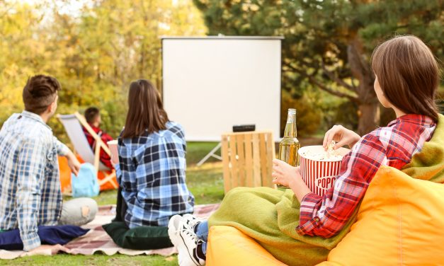 Host Your Own Backyard Movie Night!