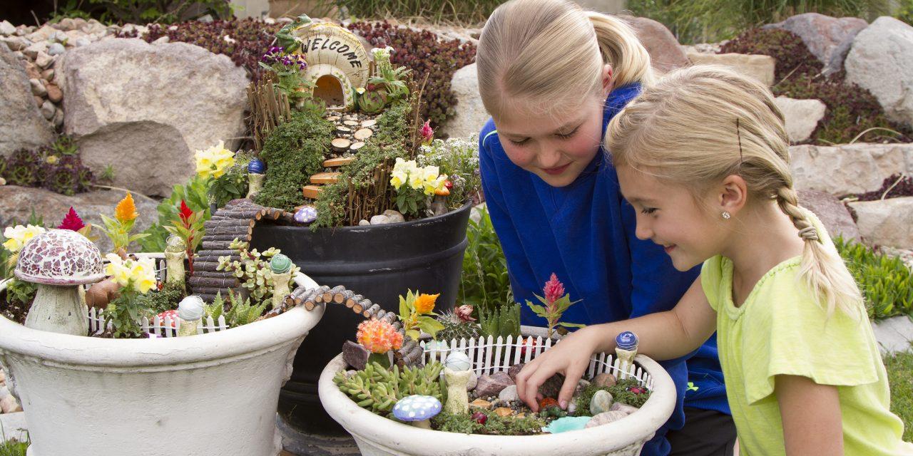 Just Add Pixie Dust: 10 Fairy Garden Ideas