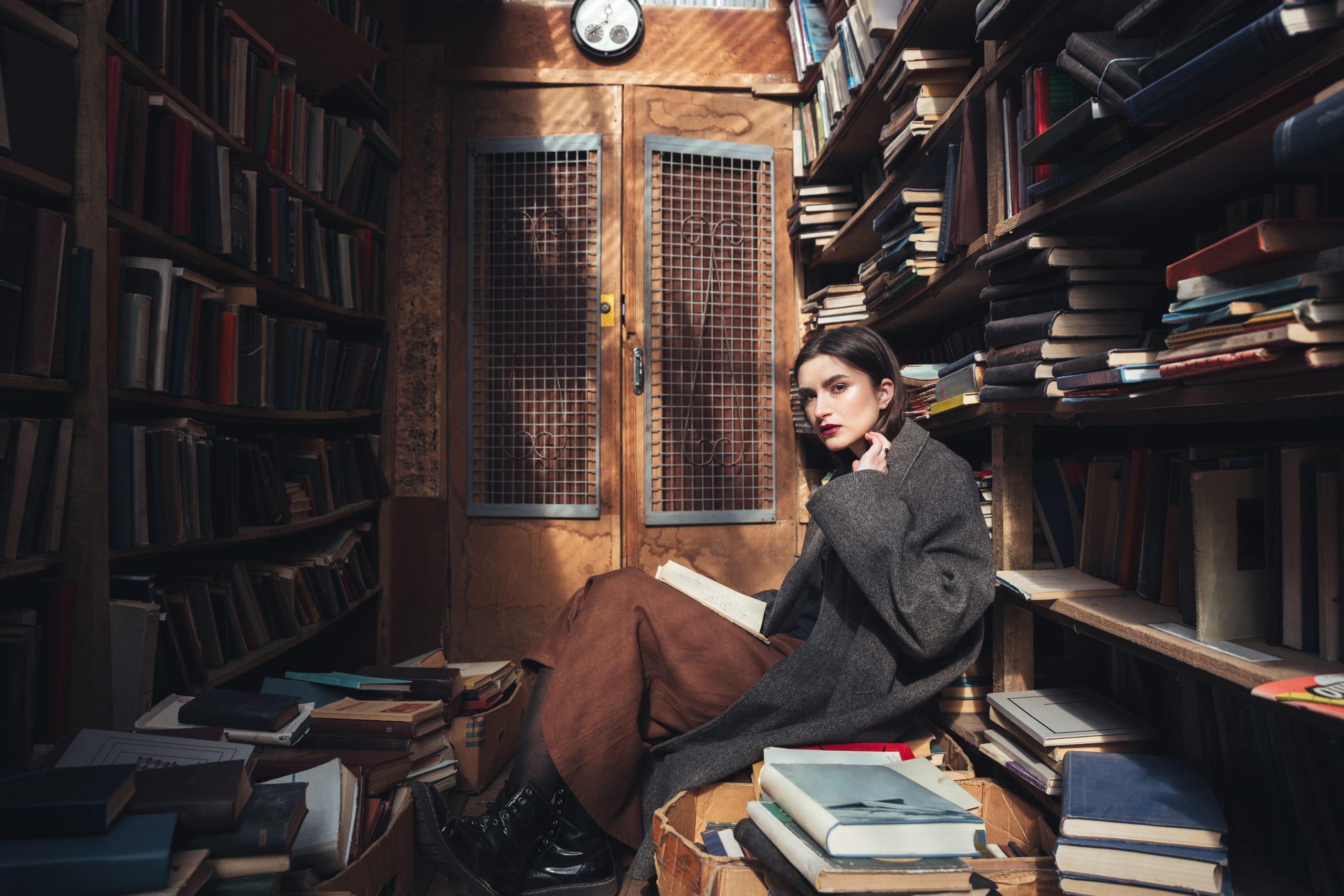Dark Academia Library Aesthetic