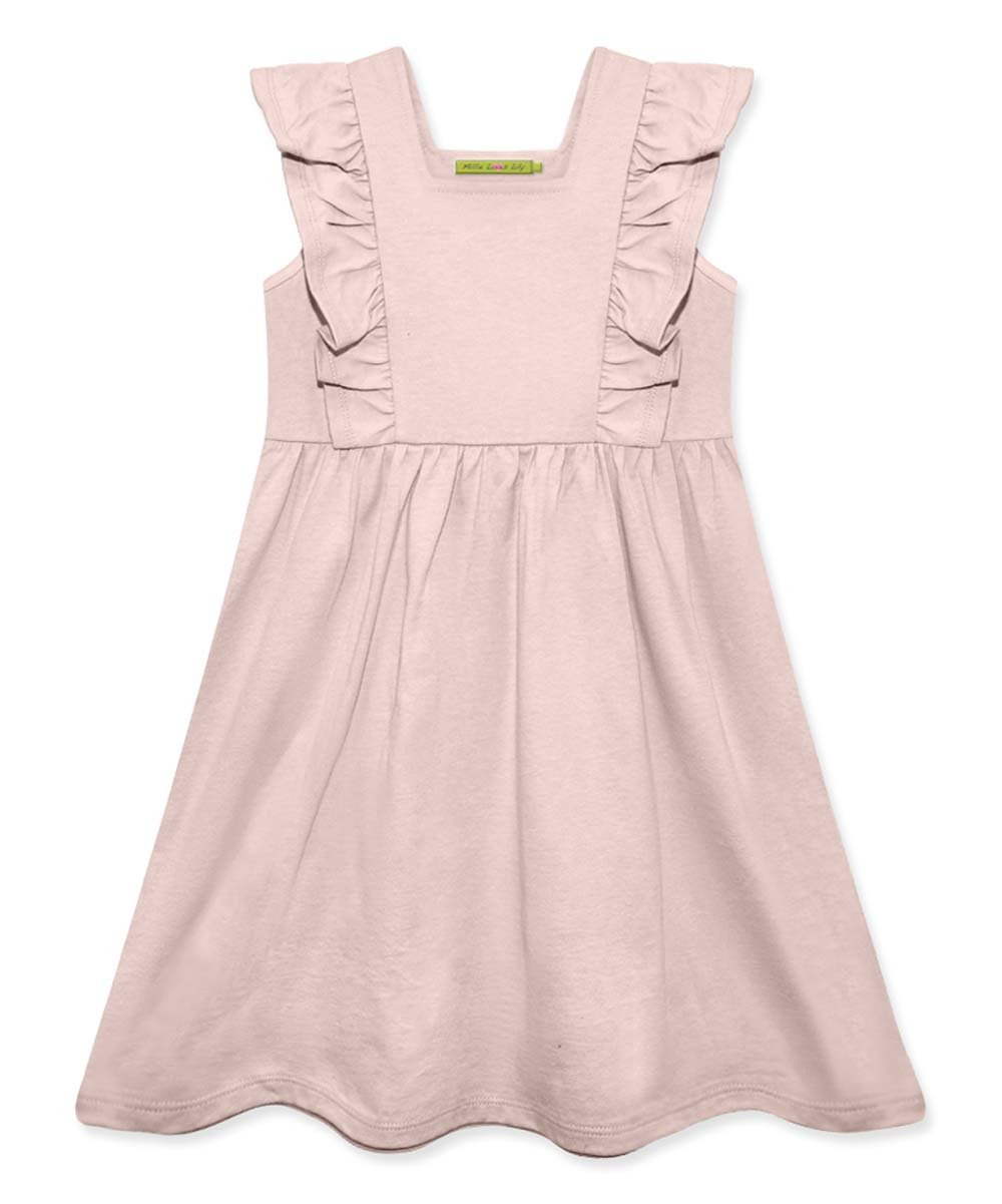 Millie Loves Lily Pink Ruffle Toddler Dress
