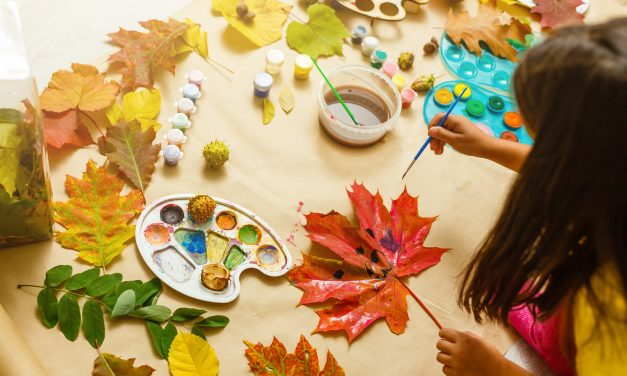 5 Minute Crafts To Do With Your Kids This Fall