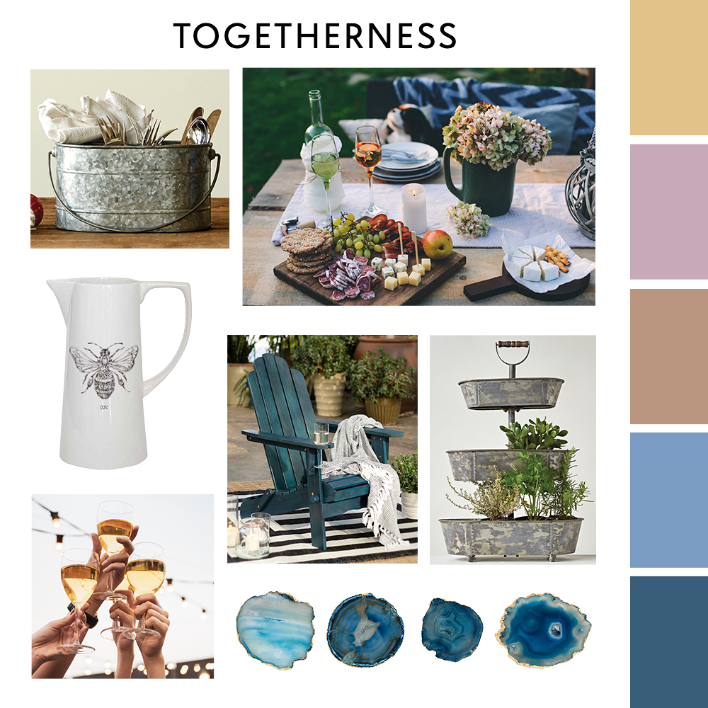 Togetherness Moodboard  | Zulily Home Index