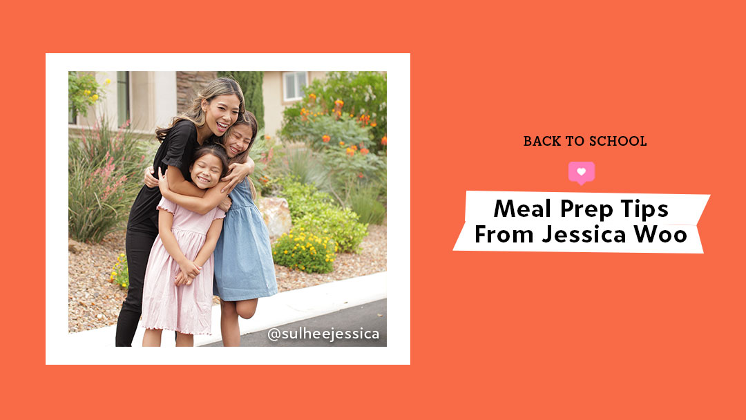 Meal Prep Tips From Jessica Woo