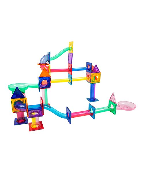 Picasso Tiles Marble Run 71 piece magnetic building blocks | 2021 Hottest Holiday Toys at Zulily
