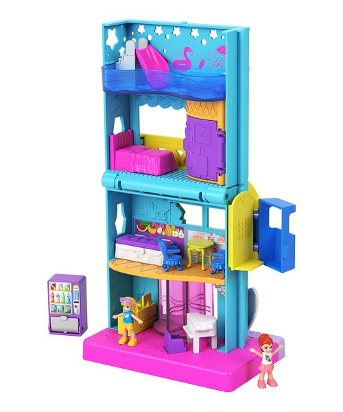 Polly Pocket Pollyville Hotel | 2021's Hottest Holiday Toys at Zulily