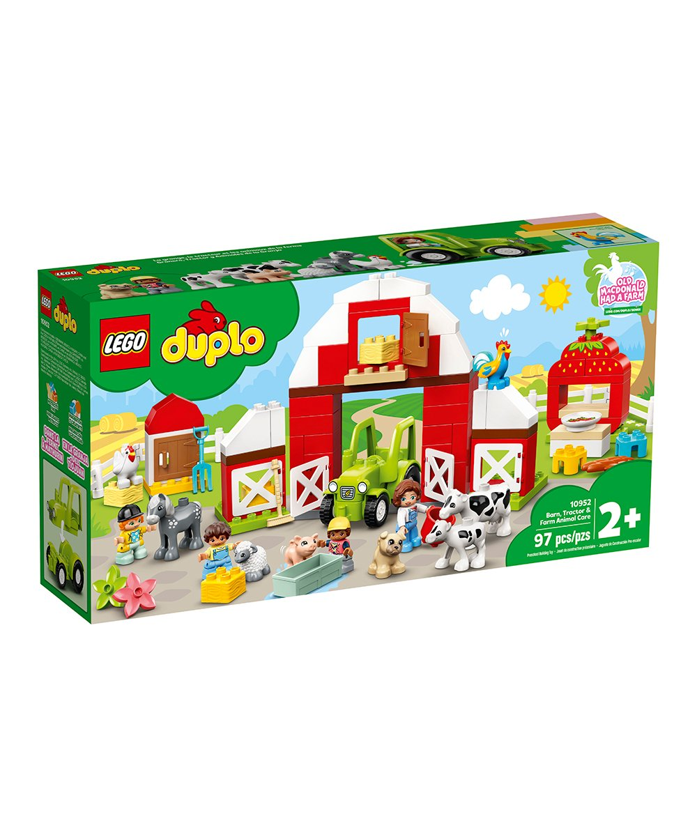 Lego Duplo Barn Tractor and Farm Animal Care | 2021's Hottest Holiday Toys at Zulily