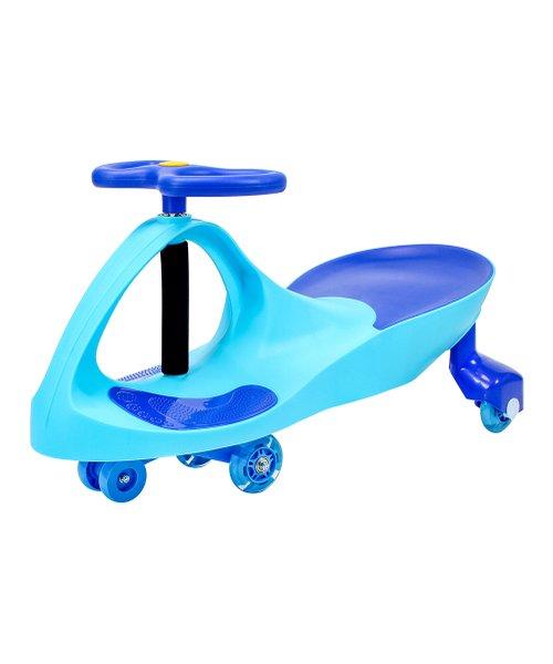 Joybay Sky Blue Premium LED Swing Car | 2021 Hottest Holiday Toys on Zulily