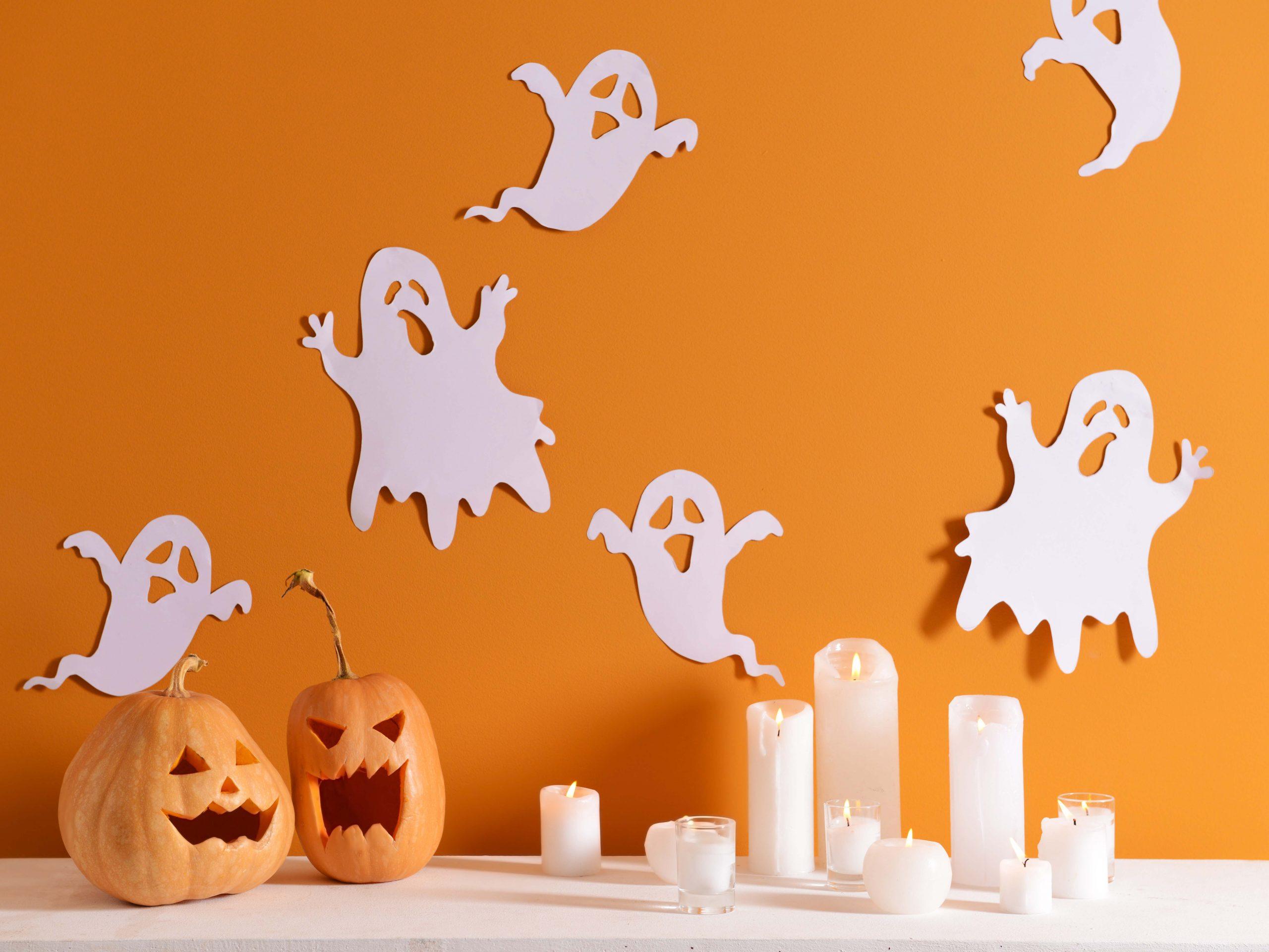 Halloween Ghost DIY Decorations